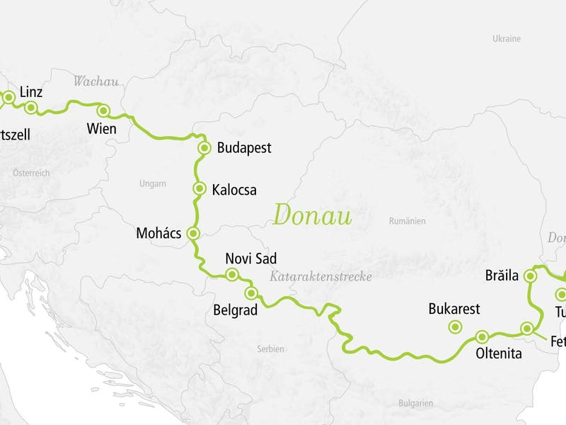 Donau Delta Bukarest - Engelhartszell